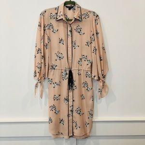 Ralph Lauren floral shirt dress - never worn!